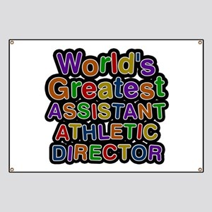 World's Greatest ASSISTANT ATHLETIC DIRECTOR Banne