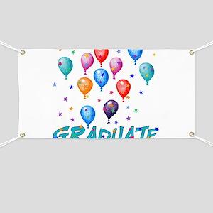 Graduation Balloons Banner