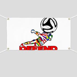 Goalie Defend Banner