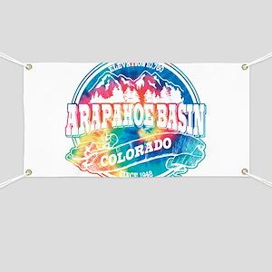 Arapahoe Basin Old Circle Banner
