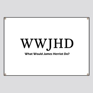 What Would James Herriot Do? Banner