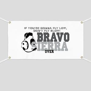Bravo Sierra Avaition Humor Banner