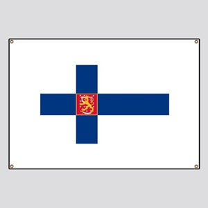 State Flag of Finland Banner
