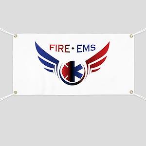 Flying Fire & EMS Banner