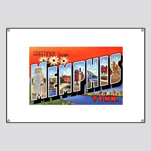 Memphis Tennessee Greetings Banner