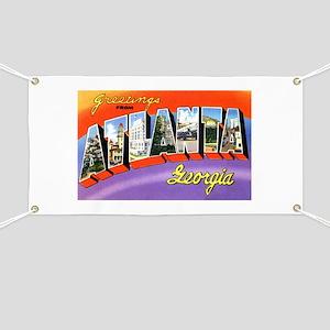 Atlanta Georgia Greetings Banner