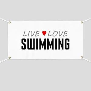 Live Love Swimming Banner