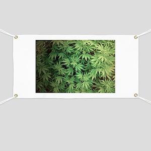 Marajuana Weed Pot Banner