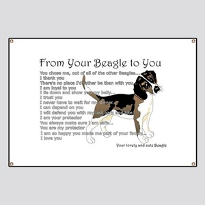 A Beagle's letter to you Banner