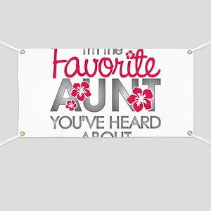 Favorite Aunt Banner