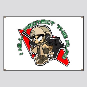 Airsoft Protect flag Banner