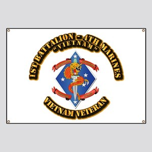 1st Bn - 4th Marines Banner