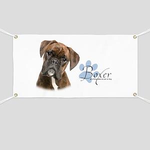Boxer Puppy Banner