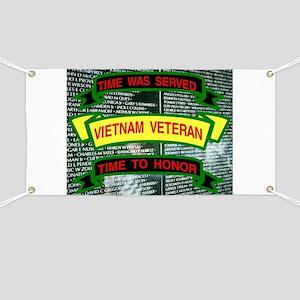 TIME SERVED Banner