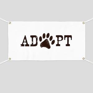 Adopt an Animal Banner