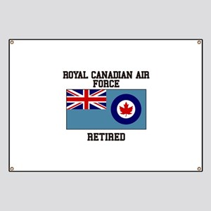 Royal Canadian Air Force Retired Banner