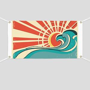 wave at dawn Banner