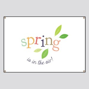 Spring In The Air Banner