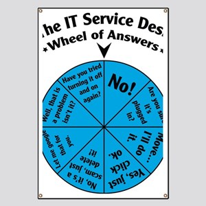 IT Wheel of Answers Banner