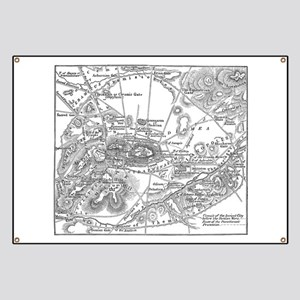 Ancient Athens Map Banner