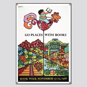 1968 Childrens Book Week Banner