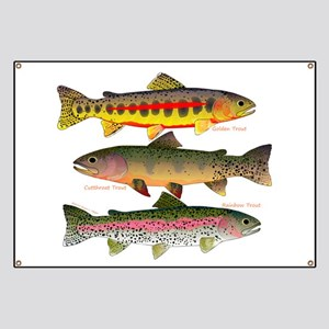 3 Western Trout Banner
