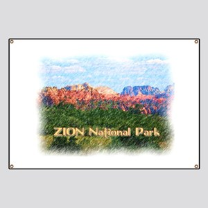 Zion National Park, Utah Banner