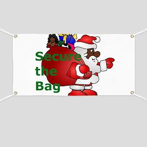 secure the bag santa Banner