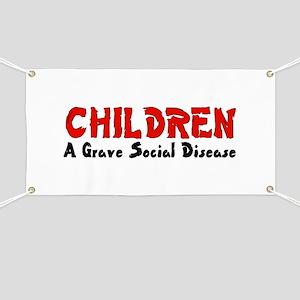 Children Social Disease Banner