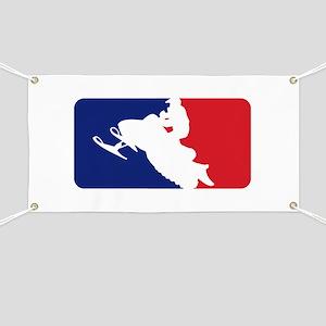 Major League Snowmobiler Banner