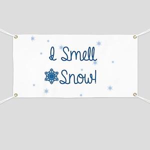 I Smell Snow Banner