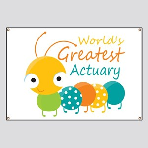 World's Greatest Actuary Banner