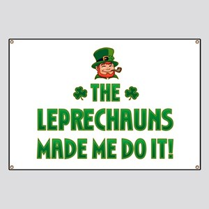 The Leprechauns Made Me Do It Banner