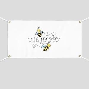 Bee Happy Banner