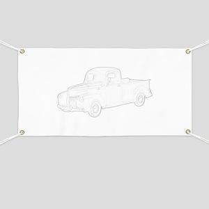 Ford Pickup 1940 Banner