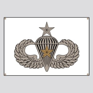 Combat Parachutist 1st awd Sr. Banner