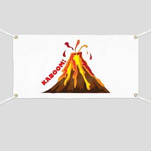 Volcano Kaboom Banner