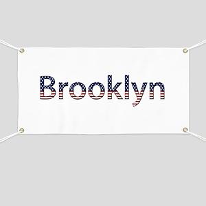 Brooklyn Stars and Stripes Banner