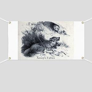 Harrison Weir - Fox and the Hedgehog - Aesop - 18