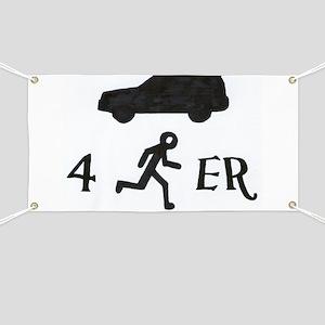 4Runner Banner