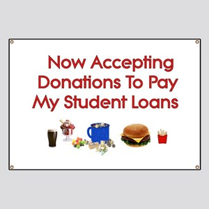 Student Loan Donations Banner