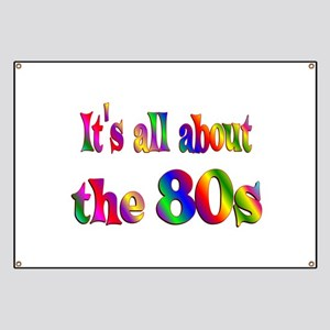 All About 80s Banner