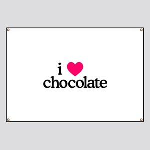 I Love Chocolate Banner