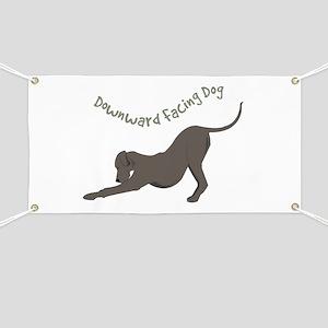 Downward Dog Banner