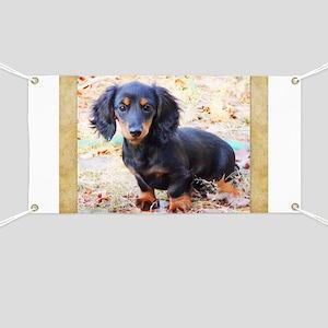 Puppy Love Doxie Banner