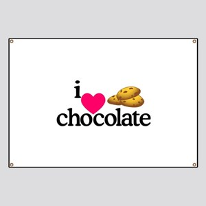 I Love Chocolate/Cookies Banner
