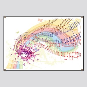 Colorful Music Banner