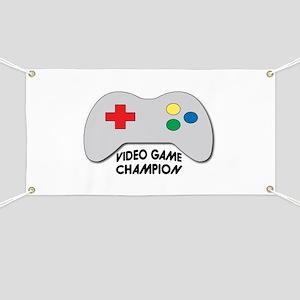 Video Game Champion Banner