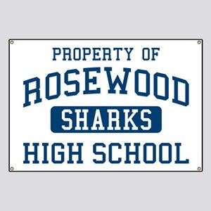 Property Of Rosewood Sharks Pretty Little L Banner