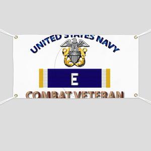 Navy E Ribbon - Cbt Vet Banner
